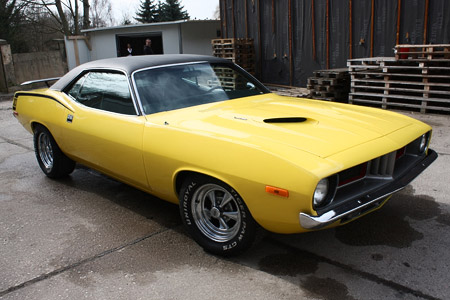 73er Chrysler Plymouth Cuda